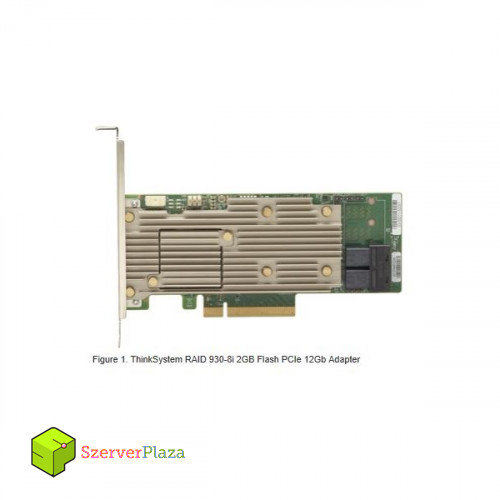 LENOVO szerver RAID - ThinkSystem RAID 930-8i 2GB Flash PCIe 12Gb Adapter